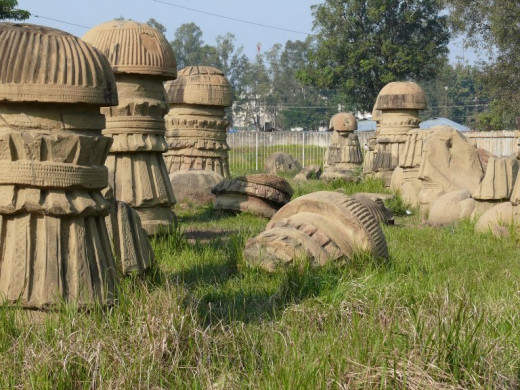 Monoliths ruin of Kachari Kingdom, Dimapur