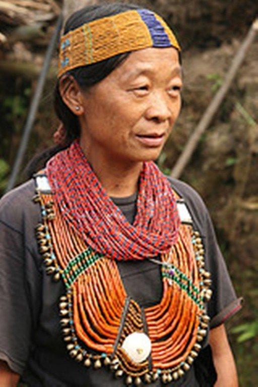 Chui village: a woman