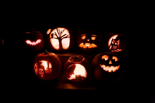 The Irish brought pumpkin carving to America.They originally carved turnip before arriving on American soil.