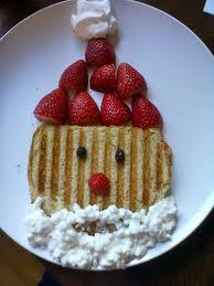 Breakfast Santa