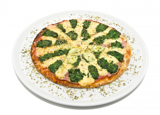 One clever way to sneak in dark leafy greens...on pizza!