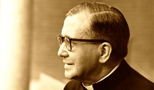 Founder of Opus Dei São José Maria Escrivá