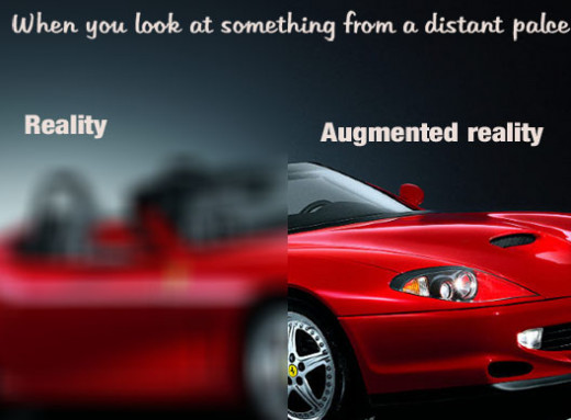 view:augmented reality vs reality