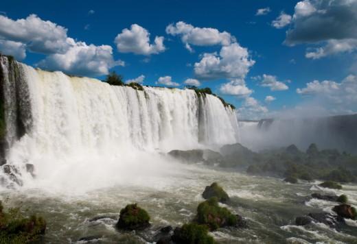 Iguazu falls - Equal to Niagara Falls