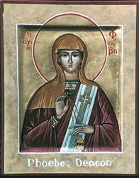 Image of Phoebe, an ancient deacon of the Church