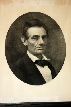 Can anyone identify the photographer who took this photo of Abraham Lincoln?