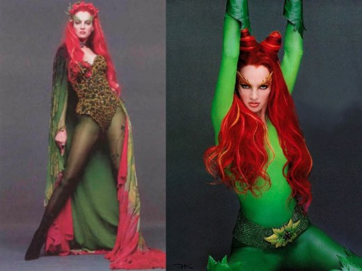 Uma Thurman as Poison Ivy in Batman and Robin Movie  sc 1 st  HobbyLark : batman and poison ivy costumes  - Germanpascual.Com