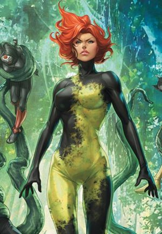Poison Ivy New 52 Costume