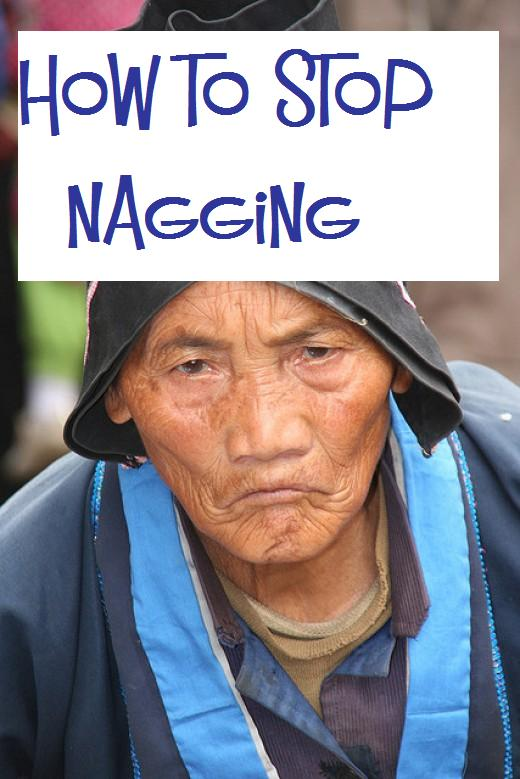 Nobody likes to be a nag, and nobody likes to be nagged.