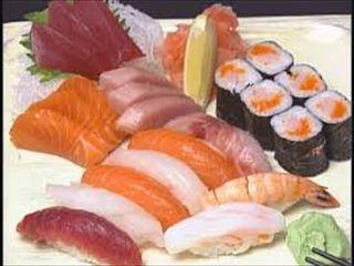 "Off course ""Sushi&Sasimi""(raw fish)"