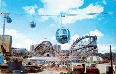 Astroland in the 1960s