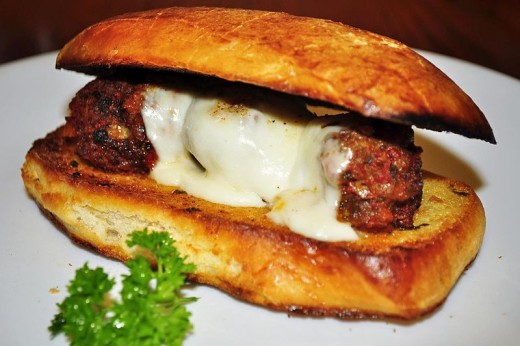 Meatball Sandwiches Are One Of My Favorite Foods.