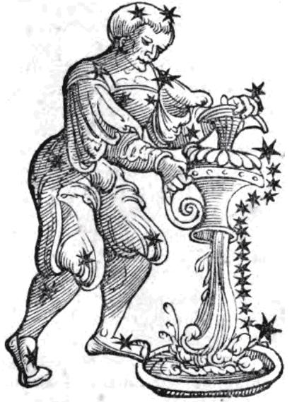 Aquarius by Guido Bonatti