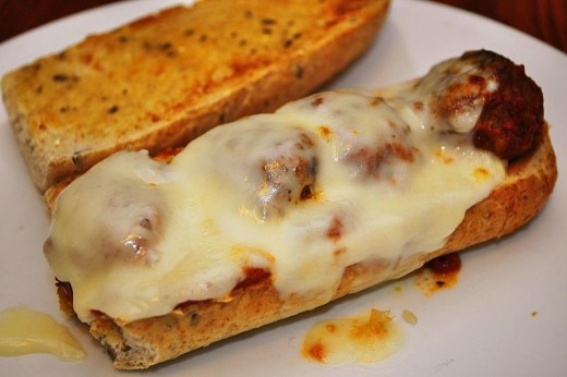 Homemade Meatball Sandwiches Are Oh So Delicious. They Are One Of My Favorite Foods.