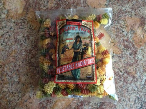Organic Vegetable Radiatore Pasta from Trader Joe's