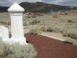 Cemetery. Bodie State Historic Park.