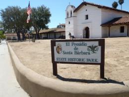 Chapel. El Presido de Santa Barbara State Historic Park.