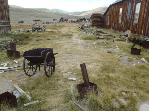 Bodie State Historic Park near Bridgeport, California.