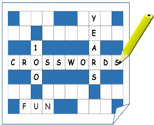 Image of a crossword puzzle created by TDowling