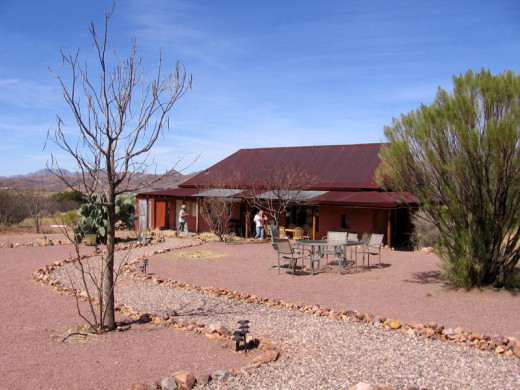 Dr. Cousen's Tree of Life Rejuvenation Center restaurant in Patagonia, Arizona.