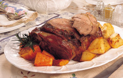 Amazingly Tender Lamb Roast