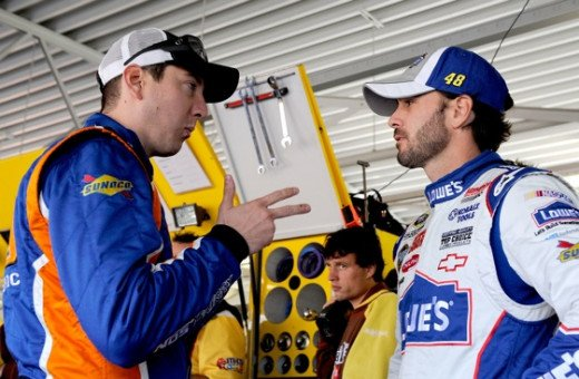 Kyle Busch and Jimmie Johnson already have a combined seven wins this season