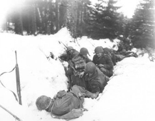 2nd ID GIs during the Bulge