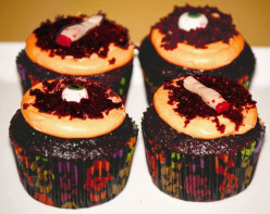 Island Bites: Halloween Cupcakes (recipes and decorating ideas)
