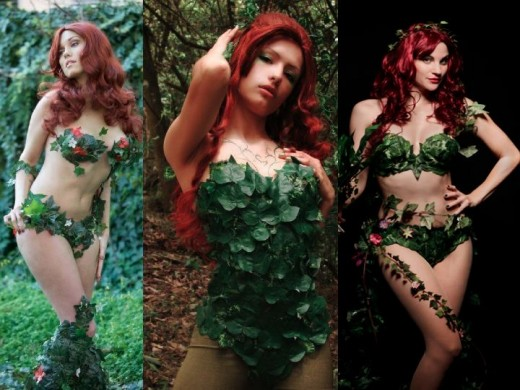 Poison Ivy Plant Cosplay Costumes