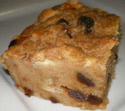 Bear N Mom Recipes - Bread Custard Pudding