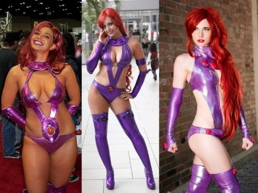 Original Starfire Cosplay Costumes