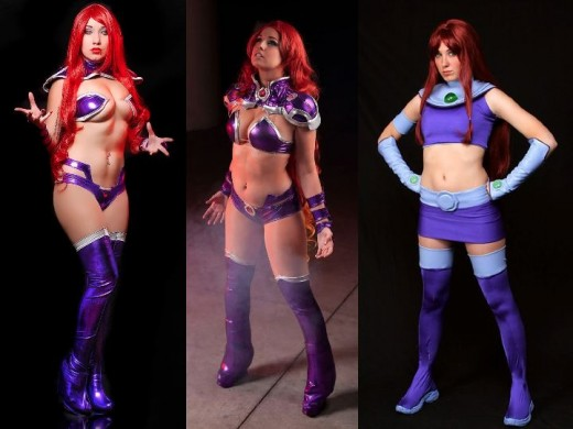 Alternate Starfire Cosplay Costumes