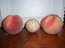 Are these the biggest peaches that you've ever seen?