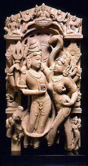 Marriage of Lord Shiva and Goddess Parvati, India