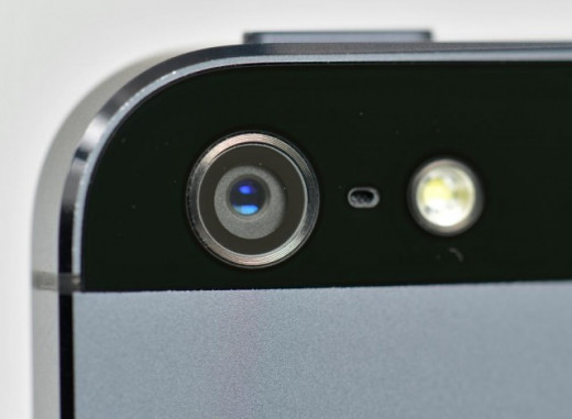The new iPhone 5S is rumored to have an improved camera.