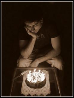 Sad birthday [Poem]