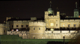The Tower of London where both human and animal spirits are said to roam.