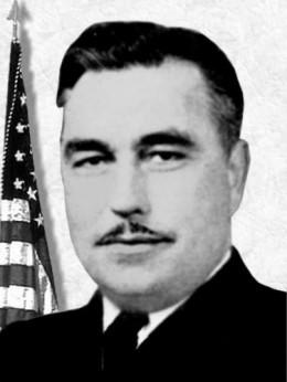 Lieutenant Commander Ernest E. Evans, Commander USS Johnston