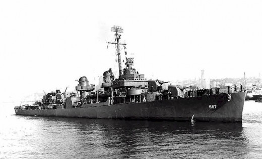 USS Johnston, DD-557