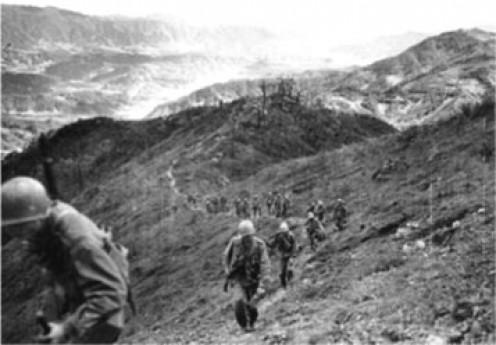 2nd ID troops in Korea