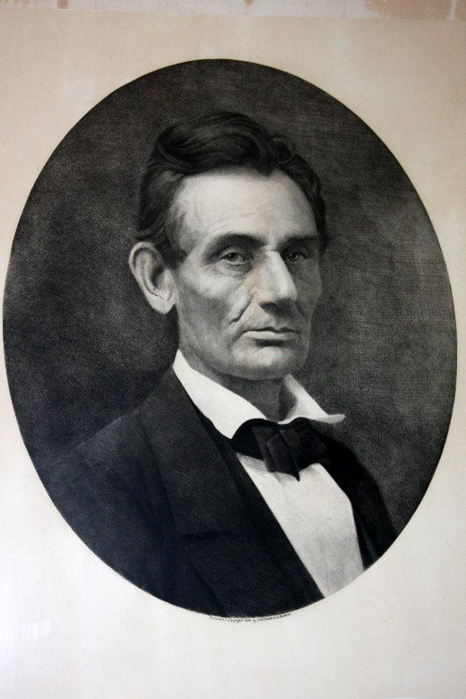 AW Elson & Co. 1893 Photogravure of 1859 Lincoln Portrait by Samuel Montegue Fassett