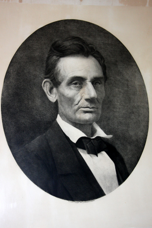 Lincoln Portrait, Ivanhoe Cafe, deedsphoto
