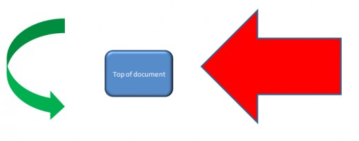 Examples of shapes that can be used to enhance spreadsheets in Excel 2007 and Excel 2010.