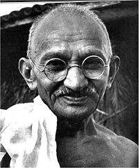 Gandhi Political Leader