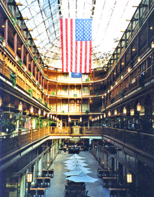 Cleveland's historic Arcade