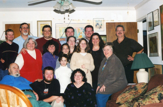 One Side of Frank's Extended Family