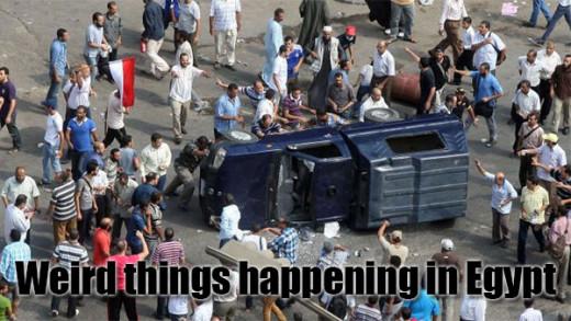 Egypt Civil War Crisis