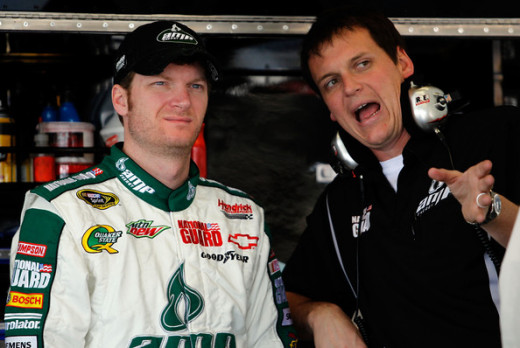 Since hooking up with crew chief Steve Letarte, the #88 has once again had a chance to win on a regular basis. Luck has prevented several of those victories.