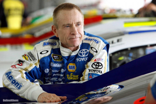 Is Mark Martin planning on starting his 2014 plans early with SHR?