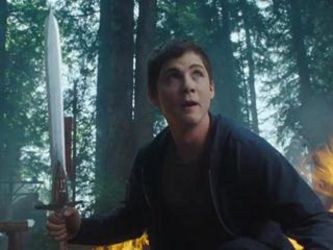 Logan Lerman stars as Percy Jackson in the second movie in the series, Sea of Monsters